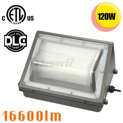 Buy Best 4PACK 120W LED Wall Pack Commercial Industrial Light Outdoor Security Fixture US