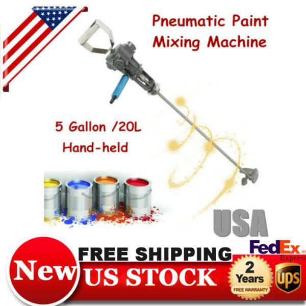 Buy Best 5 Gallon Pneumatic Paint coating Mixer Shaker Air Blender Stirrer Machine Best!
