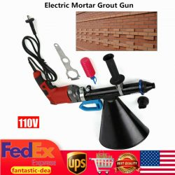 700W Electric Mortar Grout Gun Cement Caulking Pointing Grout Applicator Tool US