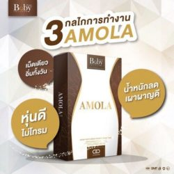 9 x Amola Supplement Weight Loss Control 10 Capsules for 3 months/ BabyThailand