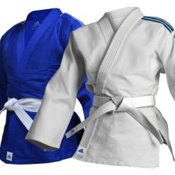 Adidas Club Judo Suit Adult White 350g Judoka Uniform Kids Blue Martial Arts Gi