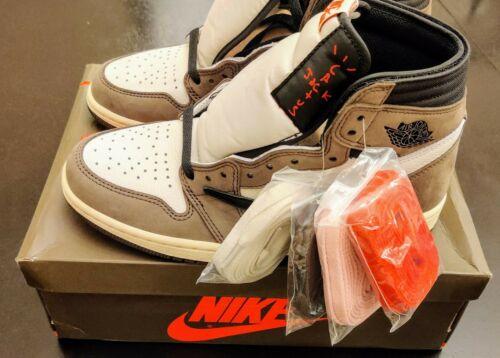Air Jordan 1 High Travis Scott Sz 7.5 - CD4487-100 - Deadstock - 100% Authentic