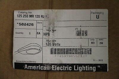 American Electric Lighting Street Light 588426 250W 125 25S MR 120 R2 FG HPS S50