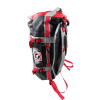 BULLTERRIER 2 way Backpack Black/Red/Gray Jiujitsu Polyester Multi Pocket