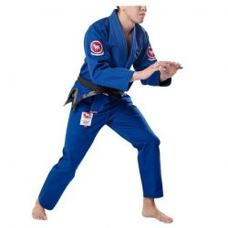 BULLTERRIER Jiu jitsu Gi BJJ Brazilian jiujitsu uniforms Limited Blue
