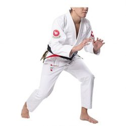 BULLTERRIER Jiu jitsu Gi BJJ Brazilian jiujitsu uniforms Limited White