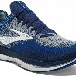 Brooks Mens Bedlam Running Shoe - Blue/Navy/Grey - D - 8.5