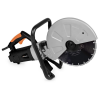 Concrete Saw Portable Variable Blade Depth Power Tools Corded 15 Amp 12 in.
