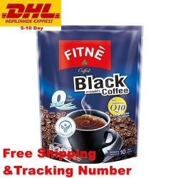 Buy Best Fitne Black Coffee With Coenzyme Q10 Slimming Weight Loss Diet DHL Shipping