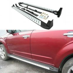 For Subaru Forester 09-12 Alloy Car Running Board Step Board Side Pedal Fitting