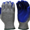 Buy Best G  F 1511M-DZ Rubber Latex Coated Work Gloves for Construction, Blue, Crinkle P