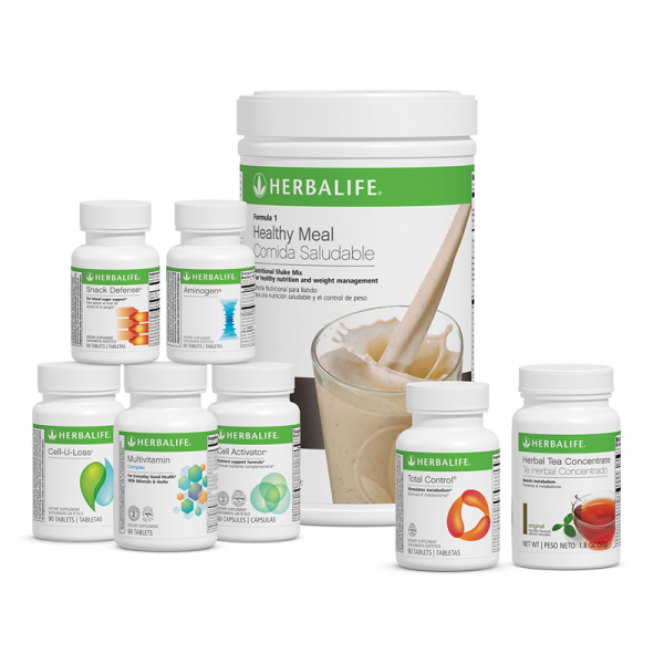 HERBALIFE - ULTIMATE - WEIGHT MANAGEMENT PROGRAM 6 Different FLAVORS