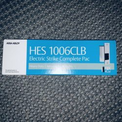 HES Assa Abloy Electric Strike Body 1006CLB-12/24D-630