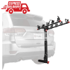 "Hitch Mount 5 Bike Rack Black 2"" Receiver Car Truck RV Steel Construction w/Lock"