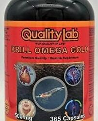 Krill Oil Omega Gold 500 mg 365 Capsules (Made in Canada) PROD250000225