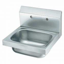 "Krowne 16"" Wide Hand Sink with 8"" Center Faucet Holes (LESS FAUCET), HS-20-LF"