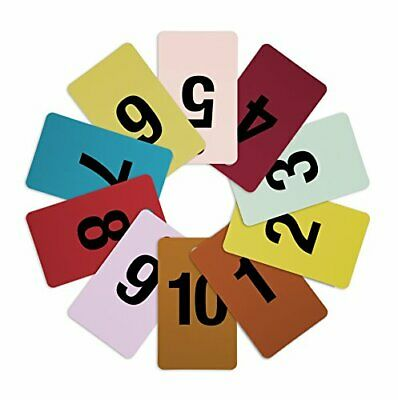 Mark Bric 8-FRT1-10 Fitting Room Tags Includes Numbers 1-10 in Various Colors...