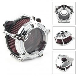 Motorcycle Air Cleaner Intake Filter For Harley Electra Glide Classic EFI FLHTCI
