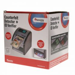 NOB Cassida Counterfeit Detector with UV Identification Verification Lights