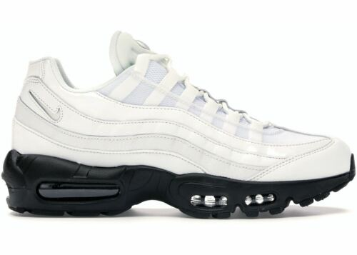 Nike Air Max 95 White Black AQ4138-102 Women Size 12US 100%LEGIT Men 10.5US