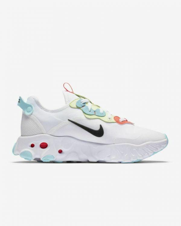 Buy Best Nike React Art3mis Wmns Shoes CN8203-101 White/Bright Crimson/Barely Volt/Black