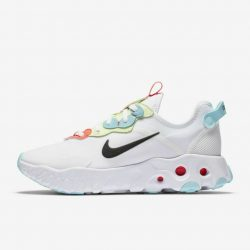 Nike React Art3mis Wmns Shoes CN8203-101 White/Bright Crimson/Barely Volt/Black