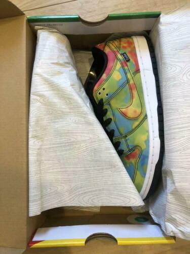 Nike SB Dunk Low  Pro QS Civilist THERMOGRAPHY  CZ5123 001 Size US 8 w/Box