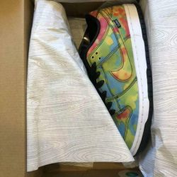 Nike SB Dunk Low  Pro QS Civilist THERMOGRAPHY  CZ5123 001 Size US 8 w/Box