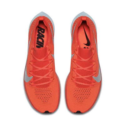 Nike Vaporfly 4% FlyKnit Mens Size 5 Running Shoes AJ3857 600 Bright Crimson
