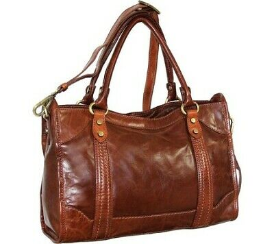 Buy Best Nino Bossi Women's   Amber Leather Satchel Cognac Size OSFA