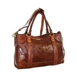 Nino Bossi Women's   Amber Leather Satchel Cognac Size OSFA