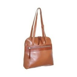 Nino Bossi Women's   Carina Leather Convertible Tote Backpack Cognac Size OSFA
