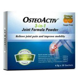 OSTEOACTIV 3 IN 1 JOINT FORMULA POWDER (4.5G X 30 SACHETS) X 2 Boxs EXPRESS SHIP