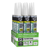 Polyurethane 10.1 Oz. White Premium Construction Adhesive Sealant (12-Pack)