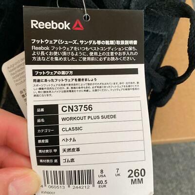 Buy Best Reebok Workout Plus Suede 26Cm US8.5