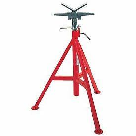 "Buy Best Ridgid® Model No. Vj-99 V Head High Pipe Stand, 12"" Max. Pipe Capacity,"