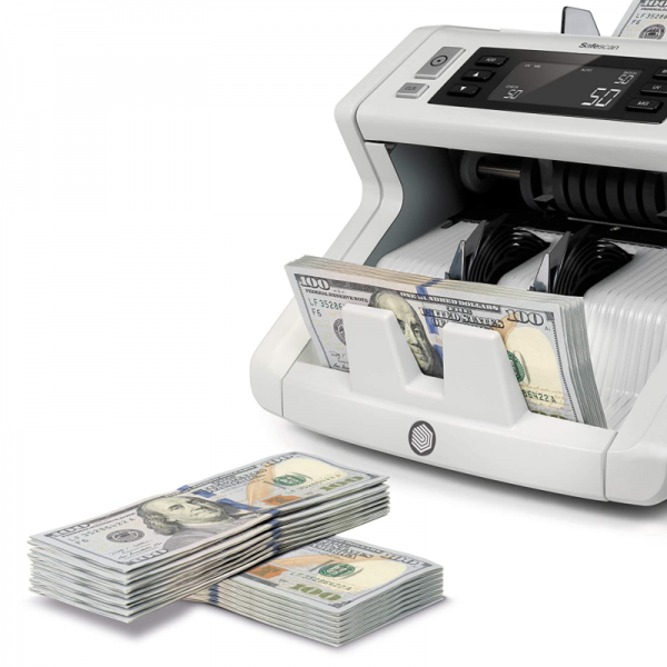 Safescan 2250 - Bill Counter For Sorted Bills With 3-Point Counterfeit Detection
