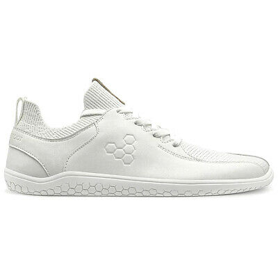 Vivobarefoot Womens Trainers Primus Knit Lux Lace-Up Low-Top Leather Textile