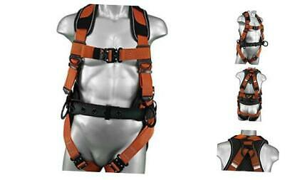 Warthog Comfort MAXX Construction Harness with Removable Belt, Side D-Rings and