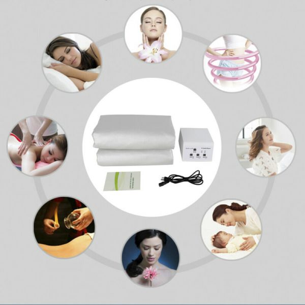 Buy Best Weight Management Machine Far-infrared Sauna Blanket 3 Zone Timer Controller US!
