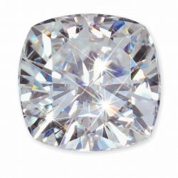 Cushion Cut Charles&Colvard Forever One Loose Moissanite D/E/F Color w/Gift Box