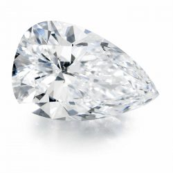 D/E/F Color Charles & Colvard 0.43Ct-2.10Ct Pear Forever One Loose Moissanite
