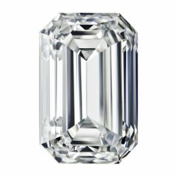 D/E/F Emerald Cut Charles&Colvard Forever One Loose Moissanite 0.10CT-4.93CT