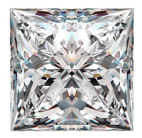 Princess G/H/I Color Charles&Colvard Forever One Loose Moissanite 0.90CT-2.80CT