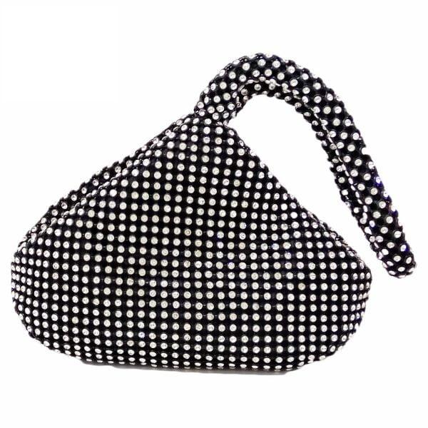 Dazzling Women Mini Crystal Clutch Wristlets Bags Evening Purses and Handbags