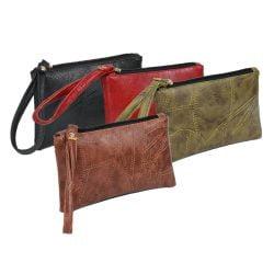 2021 Patchwork Men Women Wallets PU Leather Money Bag Zipper Clutch Coin Purse Phone Holder Wristlet Portable Handbag Party Gift