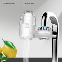 Kitchen Faucet Mount Filter Household Tap Water Purifier Activated Carbon Water Filter Home Use 7 Layers Water Softener Filter 0