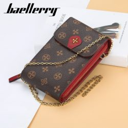 Baellerry Messenger Women's Wallet Handbag Small Purse Lady Phone Bag Wristlet Wallets Clutch Shoulder Straps Bag Women Purse