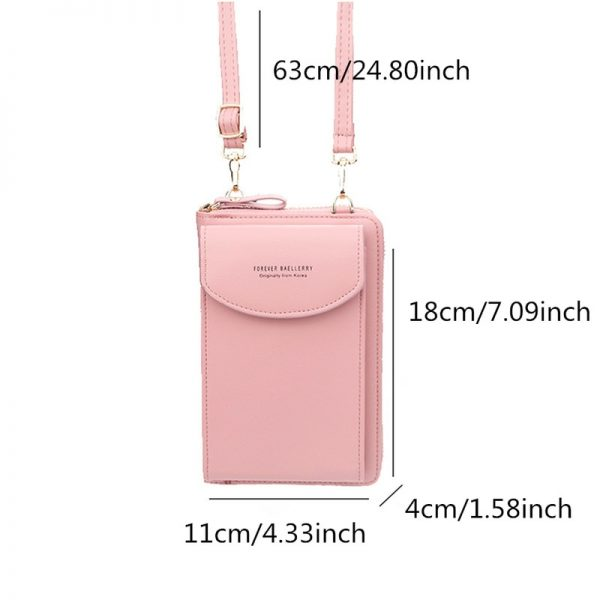 Baellerry Women Wallet 2020 Handbag Purse Ladies Cell Phone Wallet Long Wristlet Wallets Clutch Messenger Shoulder Straps Bag