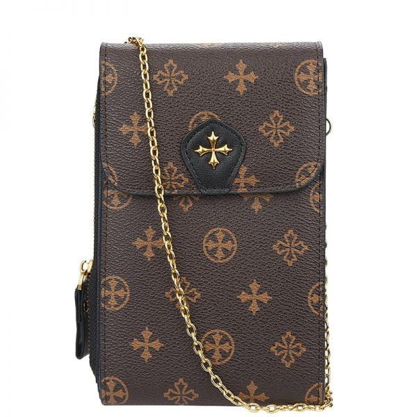 Baellerry Messenger Women's Wallet Handbag Small Purse Lady Phone Bag Wristlet Wallets Clutch Shoulder Straps Bag Women Purse